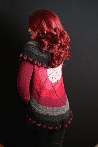Elann Knitting Pattern Pinwheel Sweaters For Women And Children