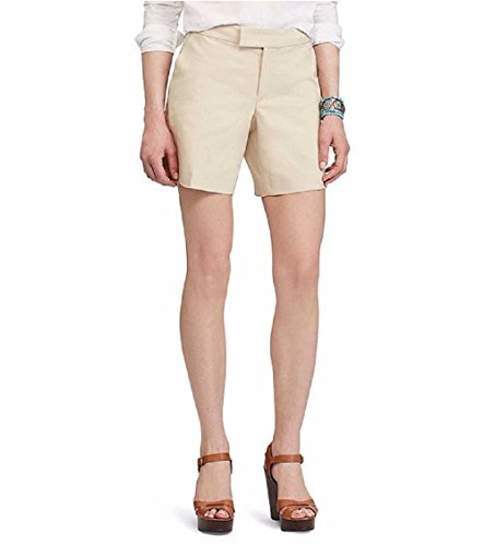 Chaps Womens Gallery Tan Stretch Cotton Shorts 12 (Chaps Stretch Womens)