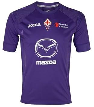 98c611b545 Lotto 2012-13 Fiorentina Joma Home Football Shirt  Amazon.co.uk ...