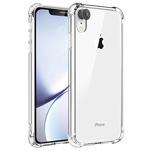 Galaxy S10 Plus Case Huness 2MM Thicken Premium Clarity and Scratch Resistant Case Cover Only Compatible Samsung Galaxy S10 Plus/S10+ Phone (Clear2)