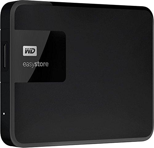 WD Easystore 1TB External USB 3.0 Portable Hard Drive - Black WDBDNK0010BBK-WESN by Western Digital