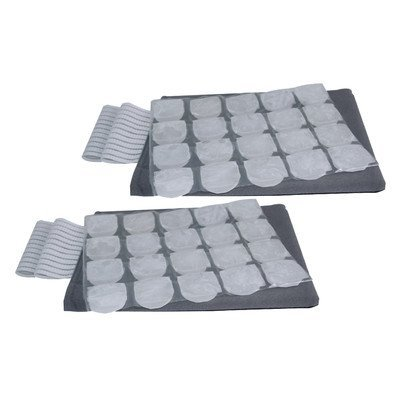 Flexifreeze Flexifeeze Cold Therapy Wrap In Black Gray  Pack Of 2