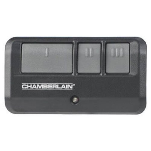 Chamberlain / LiftMaster / Craftsman 953EV 3-Button Garage Door Opener Remote, Security +2.0 Compatible, Includes Visor Clip