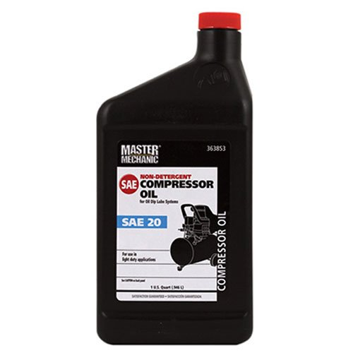 Olympic Oil 363853 Sae20 Master Mechanic Non Detergent