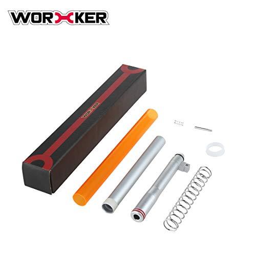 WOLFBUSH Worker Short Dart Kit for Nerf N-Strike Exclusive Elite Alpha Trooper CS-12 - Silver (N Strike Elite Alpha Trooper Cs 12)