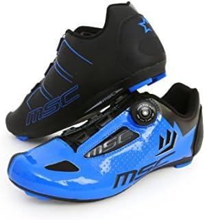 MSC Bikes Aero Road Zapatillas, Unisex Adulto: Amazon.es: Ropa y ...