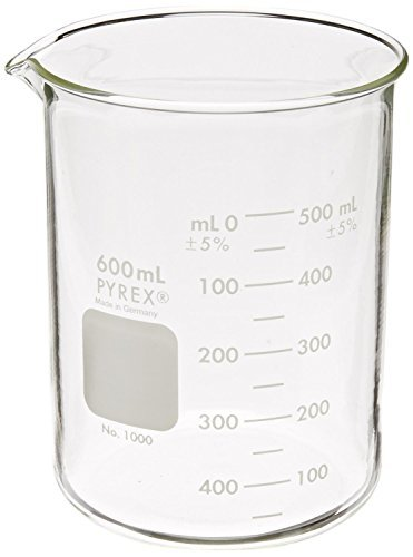 pyrex-griffin-low-form-600ml-beaker-graduated-6pk-by-pyrex