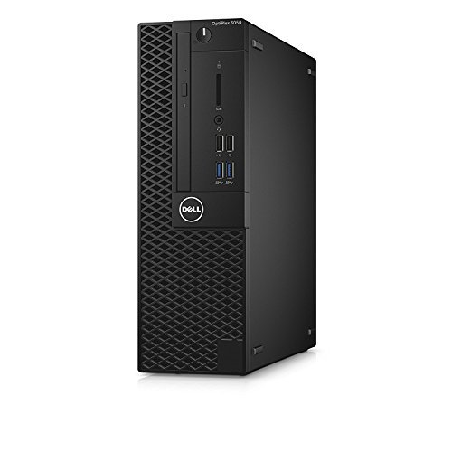 Dell Optiplex Small form factor Business Desktop PC, Intel i5-7500 Quad-Core 3.4 GHz Processor, 8GB DDR4, 128GB SSD+500GB HDD, Ethernet, DVD±RW, Display Port/HDMI, Win 10 Pro, With Keyboard and Mouse -  Optiplex-i5