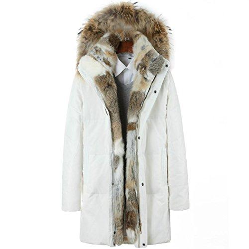 9ecc99048 70%OFF KORJDK Men Down Coat Parka Male Trench Jacket Thickened Warm ...