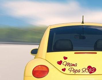 Wandtattoos Pared de tatuajes a 59 Auto Adhesivo Mama & Papa 2014 ...