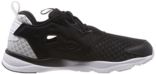 Noir Chaussures Classic Sheer Furylite Sneakers Mode Reebok Femme gaC0Pqw18f