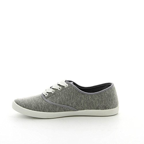 Ideal Shoes - Chaussure homme basket RICHY Gris akrVav4n
