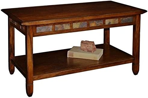 BOWERY HILL Rectangular Coffee Table in Rustic Oak