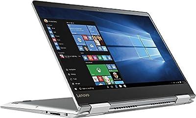 """2017 Newest Premium Built Lenovo Yoga 710 High Performance 14"""" Full HD 1920x1080 2-in-1 Touchscreen Laptop PC Intel I5-7200U Processor 8GB DDR4 RAM 256GB SSD 802.11AC Wifi HDMI Bluetooth Webcam-Silver"""