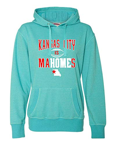 Go All Out X-Large Maui Blue/Silver Womens Kansas City is Mahomes Glitter ()
