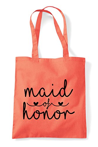 Of Statement Honor Shopper Wedding Tote Bag Maid Coral dwxHPq4d