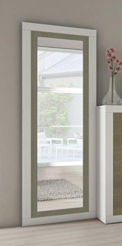 Blanco-grafito para dormitorio Cambria-blanco o Cambria.grafito entrada recibidor auxiliar Andersen-pino gris, 49,8/_x/_180/_x/_2/_cm Espejo de pie o rectangular para colgar modelo Electra
