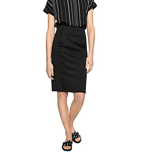 - La Redoute Collections Womens Milano Knit Pencil Skirt Black Size US 4