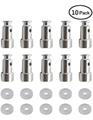 10 Pack Universal Replacement Floater and Sealer for Power Pressure Cookers Such as XL, YBD60-100, PPC780, PPC770, and PPC790