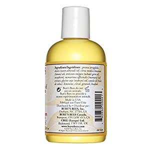 Burt's Bees 100% Natural Lemon and Vitamin E Body and Bath Oil, 4 Ounces