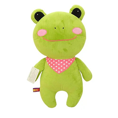 [KateDy 1 pc Cute Big Mouth Green Frog Plush Toys Doll Stuffed Animals Doll Perfect for Boys Girls Birthday Gift Xmas Gift] (Cute Halloween Names For Kittens)