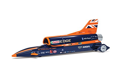 Land Speed Record Car - Corgi TY81002 Bloodhound SSC UK Display Version New 2017 Livery Model