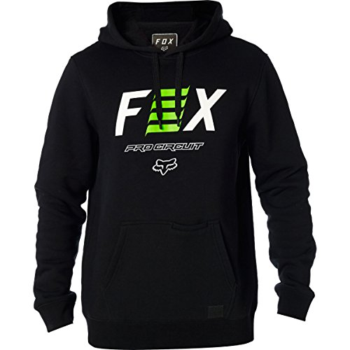 Fox Racing Men's Fox Pro Circuit Hoody Pullover Sweatshirts,Medium,Black (Pro Circuit Racing)