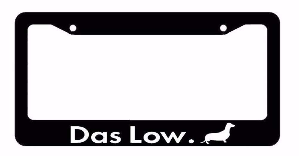 Waterproof Slim Auto Car Plate Frame Stainless Steel License Plate Cover Holder Humor Funny AllCustom4U Personalized License Plate Frame