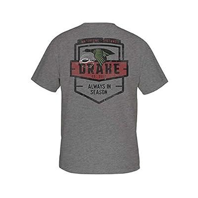 Drake Always in Season T-Shirt Short Sleeve - Graphite Heather