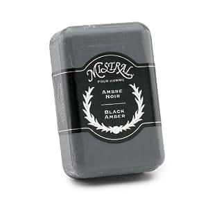 Mistral for Men Black Amber Soap 8.8oz - Case of 12 Bars