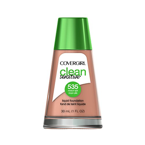 COVERGIRL Clean Sensitive Skin Liquid Foundation Medium Ligh