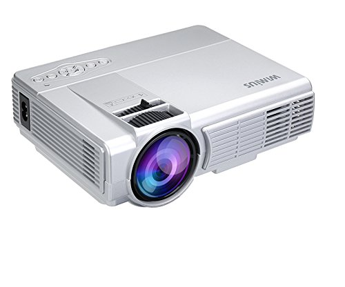 Mini projector 1200 lumens video projector lcd portable for Hdmi mini projector reviews