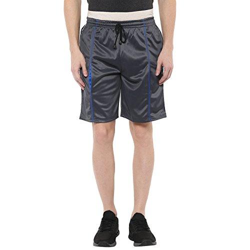 American Crew Men's Polyester Shorts (Grey)