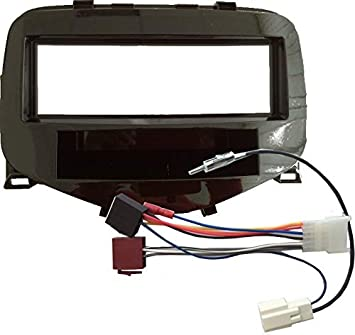 KG Radio Einbauset f/ür Toyota Aygo Citroen C1 Peugeot 108 ab 2014 Doppel DIN Radioblende Watermark Vertriebs GmbH /& Co Adapter Radio Antenne