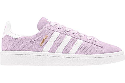 adidas Campus J, Zapatillas de Running Unisex Niños rosa blanco