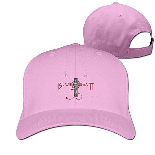 Black Sabbath Band Paranoid Plain Adjustable Caps Summer Hats New Custom Sun Hat