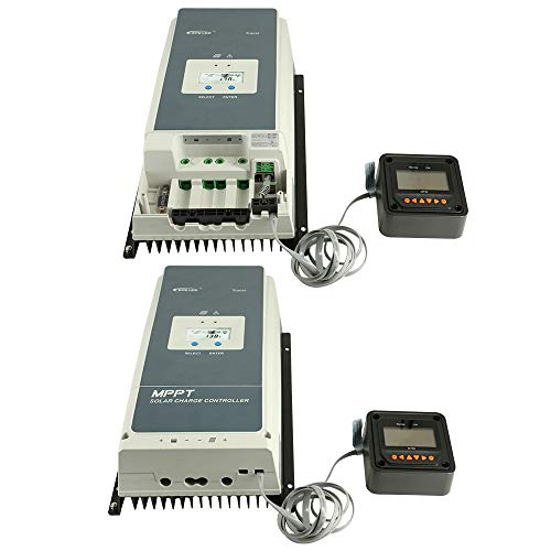 EPEVER 100a mppt Solar Charge Controller, 12v/24v/36v/48v Auto Max 150V 7500W Input Power fit for Sealed/Gel/Flooded(Tracer10415AN) by EPEVER (Image #6)