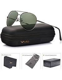 Aviator Sunglasses Polarized Men :UV 400 Protection 59MM Fashion Style, Driving