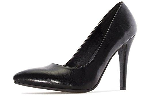 Andres Machado - Zapatos de vestir para mujer negro negro
