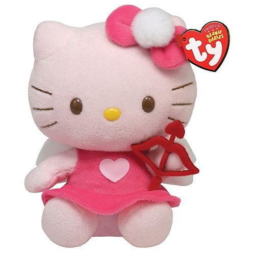 (Ty Beanie Babies Hello Kitty with Bow and)