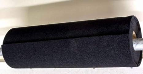 Gourd Black Woven Loop Material Wide Loop Fabric 28 x 48