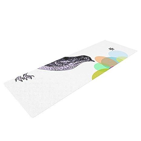 Amazon.com : Kess InHouse Sreetama Ray Candy Birds Yoga ...