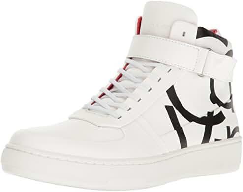 Calvin Klein Men's Navin Napa Calf Leather Fashion Sneaker