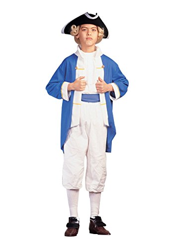 RG Costumes Colonial Captain Costume, Blue/White, Large by RG Costumes