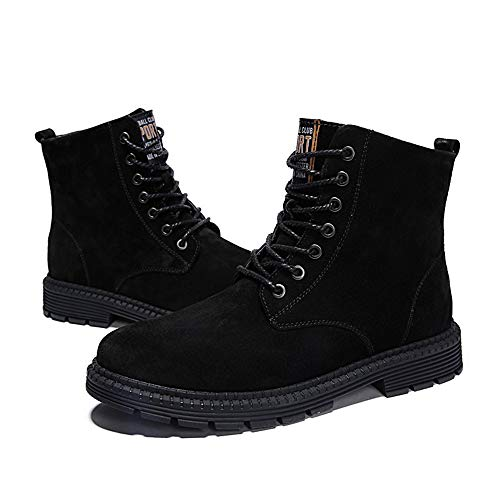 for for di Casual Scamosciata Pelle Pelle Nero Boots Bangxiu Nero EU Dimensione Grandi in in Occasions 37 Men Color da Stivaletti for Dimensioni Uomo all Pelle Daily P5xxFq