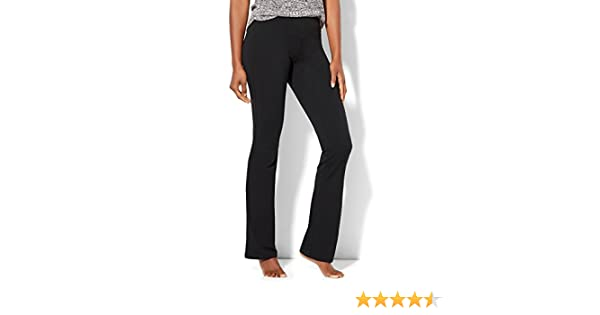 349a5effd11a6 Amazon.com: New York & Co. Women's Petite Bootcut Yoga Pant: Clothing