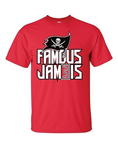 Raw T-Shirt's Famous Jameis Tampa