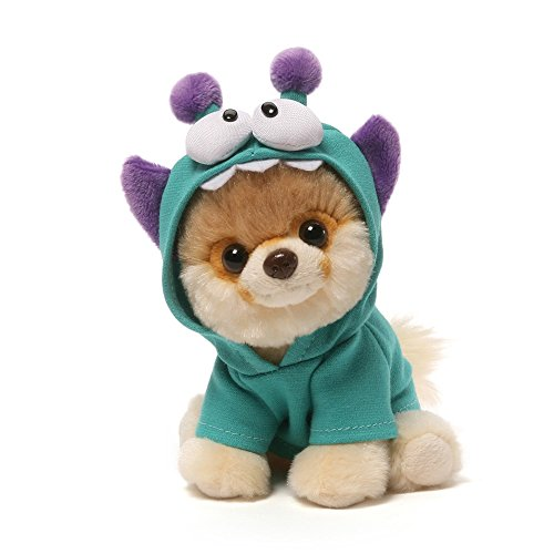 GUND Itty Bitty Boo #034 Monsteroo Dog Stuffed Animal Plush, -