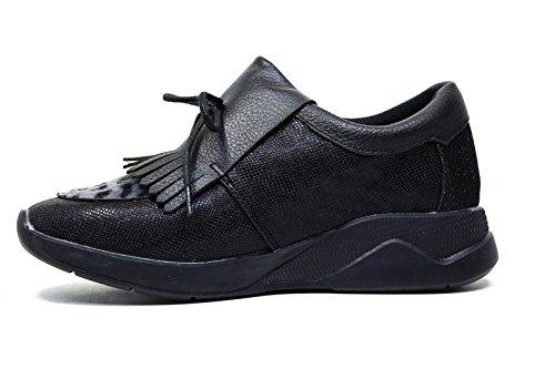 Sneakers Roy Autunno Di Donne 2016 Lee 2017 L381 In Colore Inverno In Collezione Nera Nuova Pelle g5BdwUqW