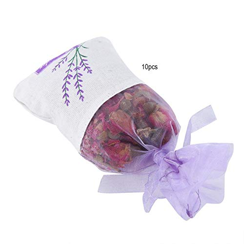 Hanging Flower Pouch 10Pcs Dried Flowers Hanging Aroma Bag Sachet Air Deodorant Wardrobe Aroma Bag Wardrobe Fragrance Sachets by Mehtah Store (Image #2)